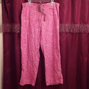 PINK VS SLEEP PANTS